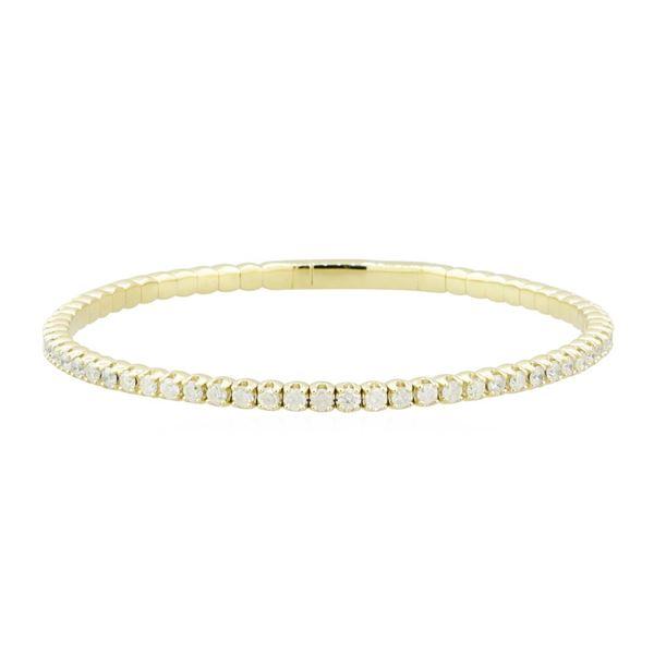 3.16 ctw Diamond Bracelet - 14KT Yellow Gold