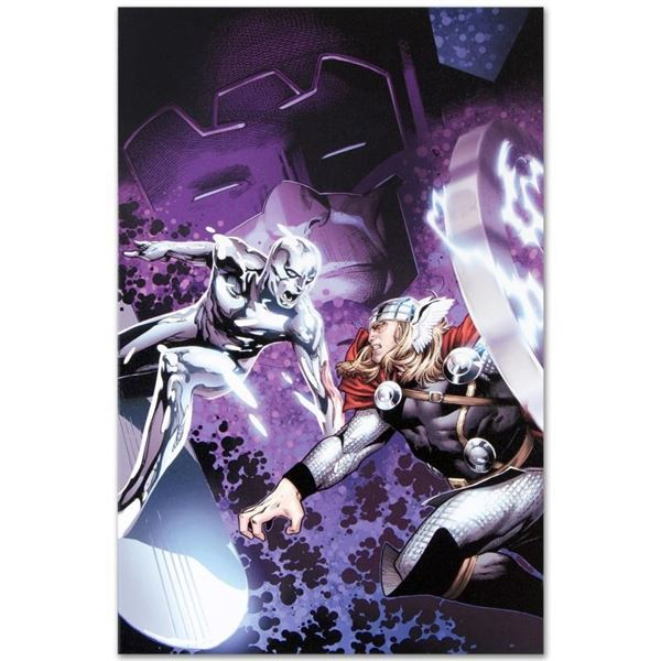 """Marvel Comics """"The Mighty Thor #4"""" Numbered Limited Edition Giclee on Canvas by"""
