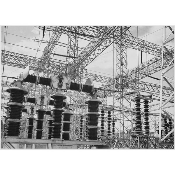 Adams - Electrical Wires of the Boulder Dam Power Units