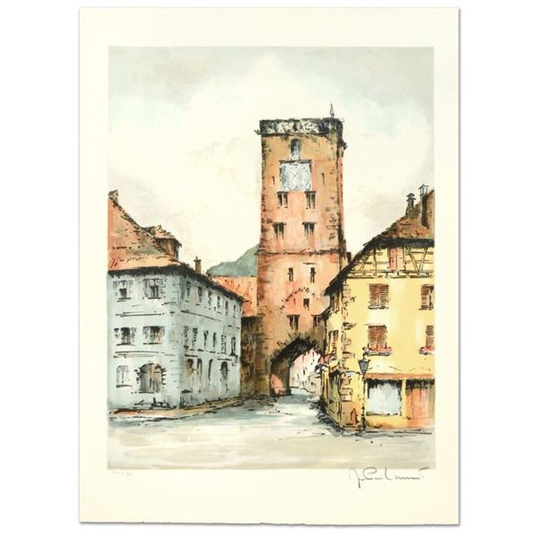 """Laurant, """"Gross Herloge"""" Limited Edition Lithograph, Numbered and Hand Signed."""