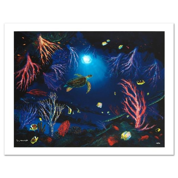 """""""Coral Reef Garden"""" Limited Edition Giclee on Canvas by Renowned Artist Wyland,"""
