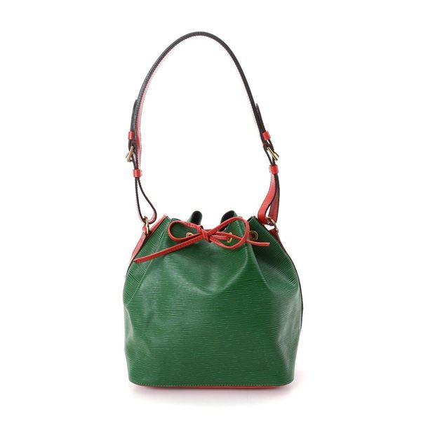 Louis Vuitton Green Noe Tote Bag