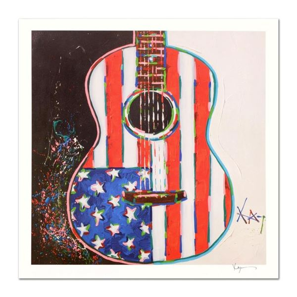 """KAT, """"American Acoustic"""" Limited Edition Lithograph, Numbered and Hand Signed wi"""