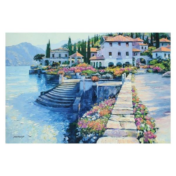 """Howard Behrens (1933-2014), """"Stairway To Carlotta"""" Limited Edition on Canvas, Nu"""