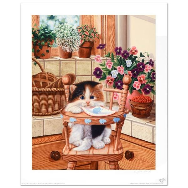 """""""Sunday Brunch"""" Limited Edition Lithograph by Barbara Higgins-Bond. Numbered and"""