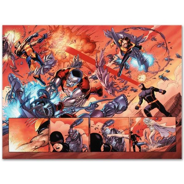 """Marvel Comics """"Astonishing X-Men N12"""" Numbered Limited Edition Giclee on Canvas"""