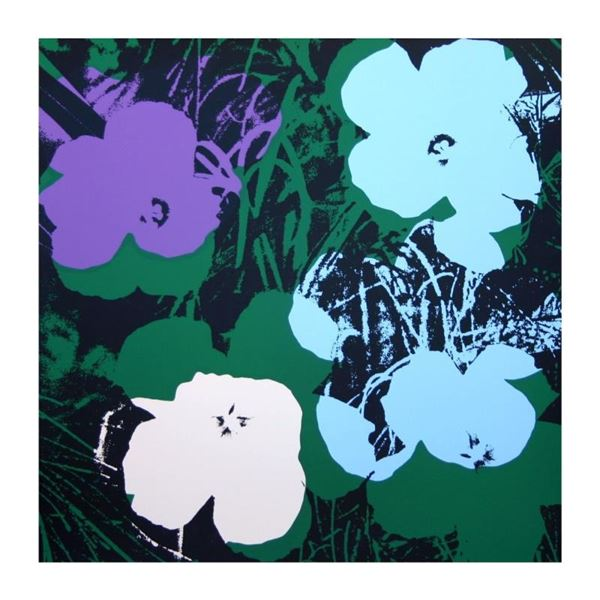 "Andy Warhol ""Flowers 11.64"" Silk Screen Print from Sunday B Morning."