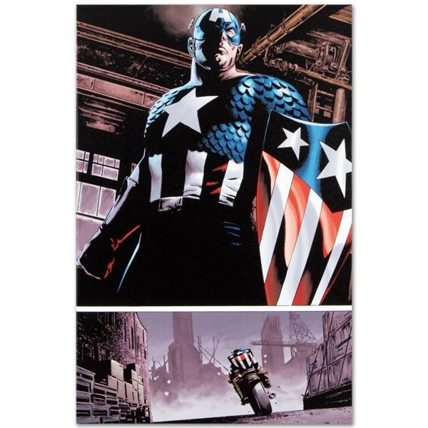 """Marvel Comics """"The Marvels Project #5"""" Numbered Limited Edition Giclee on Canvas"""