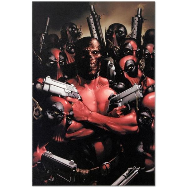 """Marvel Comics """"Deadpool #2"""" Numbered Limited Edition Giclee on Canvas by Clayton"""