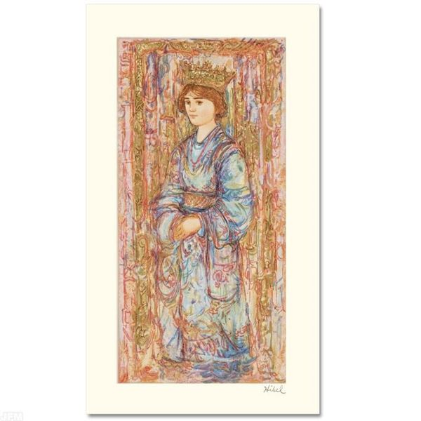 """Book of Hours II"" Limited Edition Serigraph by Edna Hibel (1917-2014), Numbered"