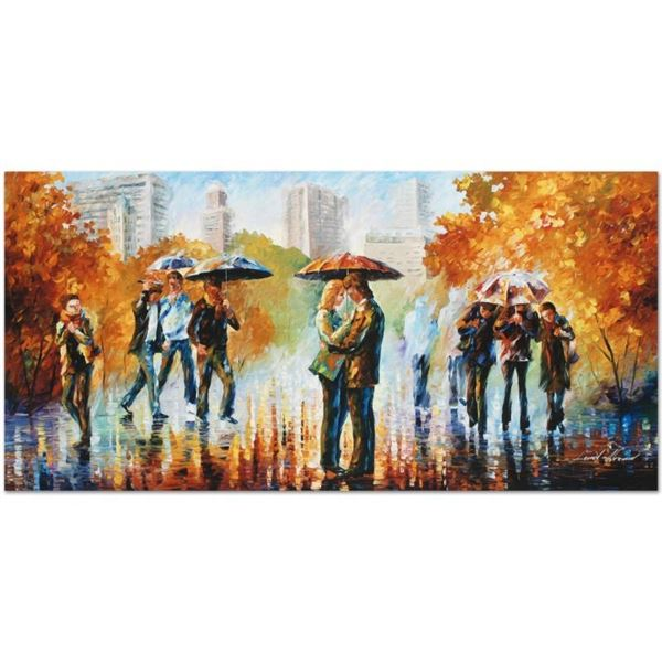 "Leonid Afremov (1955-2019) ""Simple Times"" Limited Edition Giclee on Canvas, Numb"