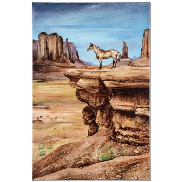 """""""The Lookout"""" Limited Edition Giclee on Canvas by Martin Katon (24"""" x 36""""), Numb"""