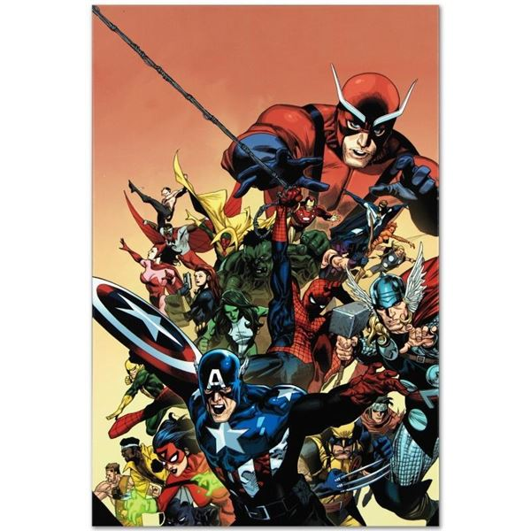 "Marvel Comics ""I Am An Avenger #1"" Numbered Limited Edition Giclee on Canvas by"