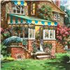 """Image 2 : Anatoly Metlan, """"Greenhouse"""" Limited Edition Serigraph, Numbered and Hand Signed"""