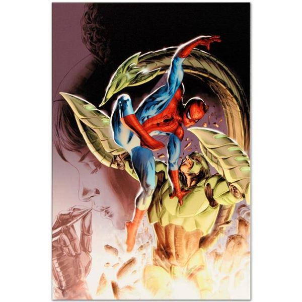 """Marvel Comics """"Heroes For Hire #8"""" Numbered Limited Edition Giclee on Canvas by"""