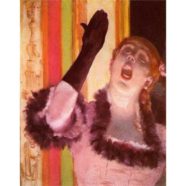 Edgar Degas - The Singer With The Glove
