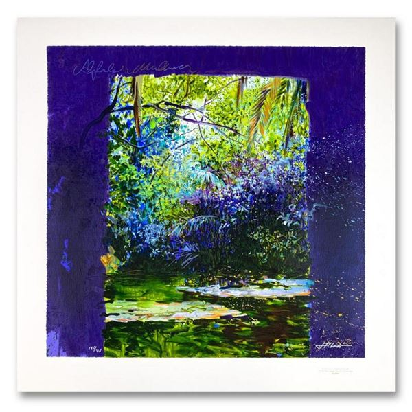 """J. Torrents Llado (1946-1993), """"Alfabia"""" Limited Edition Serigraph, Numbered and"""