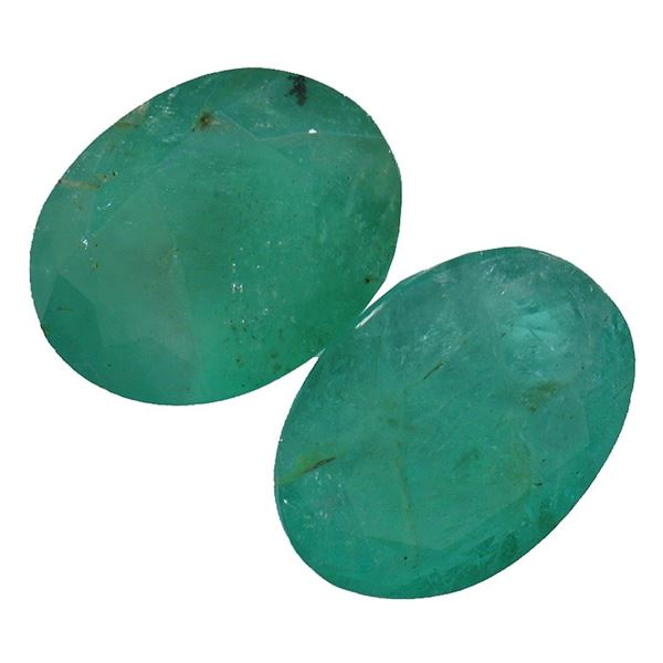 4.73 ctw Oval Mixed Emerald Parcel