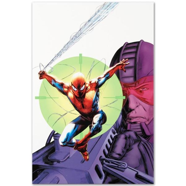 "Marvel Comics ""Heroes For Hire #6"" Numbered Limited Edition Giclee on Canvas by"