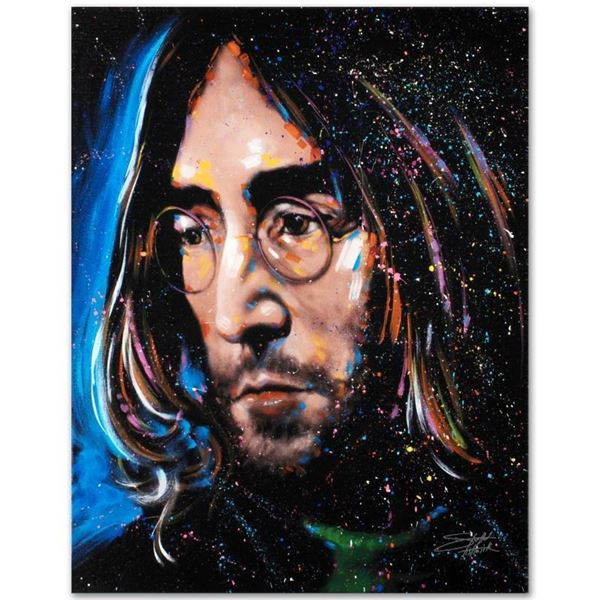 """""""Imagine"""" Limited Edition Giclee on Canvas by Stephen Fishwick, Numbered and Sig"""