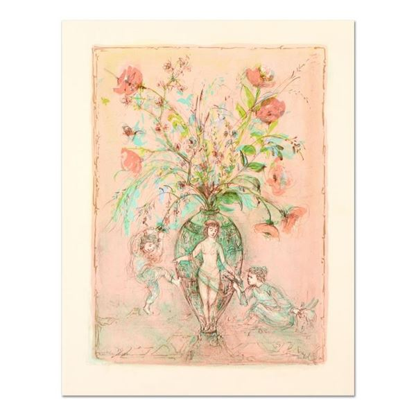 """Edna Hibel (1917-2014), """"Sprites of the Grecian Urn"""" Limited Edition Lithograph,"""