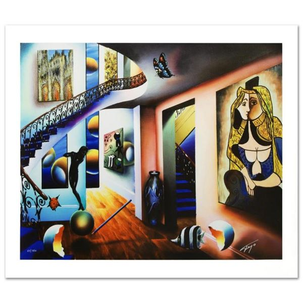"""""""Passageway to the Masters"""" Limited Edition Giclee on Canvas by Ferjo, Numbered"""