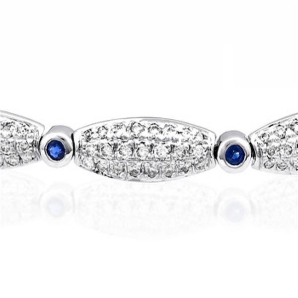 14k Gold 2.87CTW Diamond Bracelet, (I1-I2/H-I)