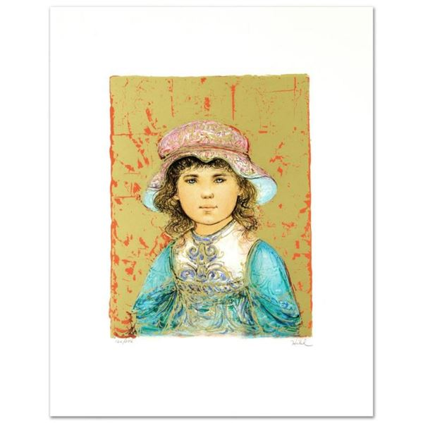"""""""Deidre"""" Limited Edition Lithograph by Edna Hibel (1917-2014), Numbered and Hand"""