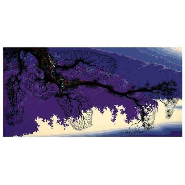 "Eyvind Earle (1916-2000), ""Purple Coastline"" Limited Edition Serigraph on Paper;"