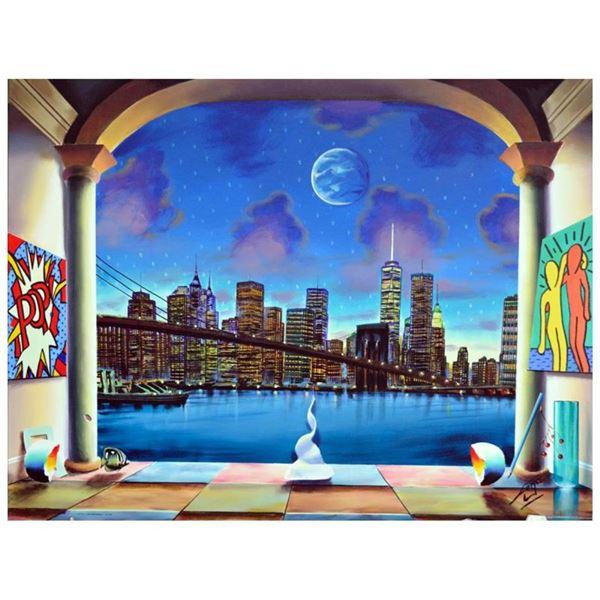 A New York Evening by Ferjo Original