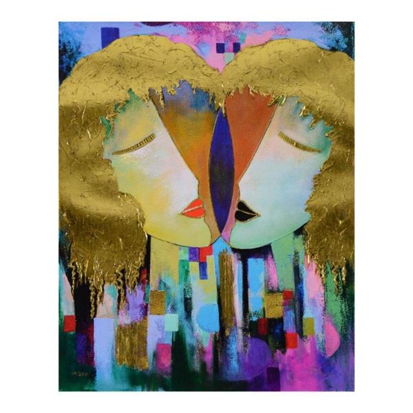"Arbe, ""Duality"" Limited Edition on Canvas with Gold Embellishing, Numbered and H"