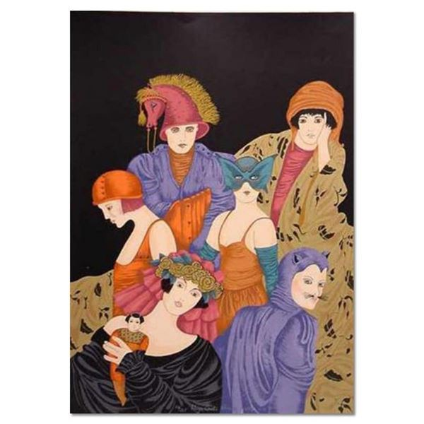 """Haya Ran, """"The Doll"""" Hand Signed Limited Edition Serigraph with Letter of Authen"""