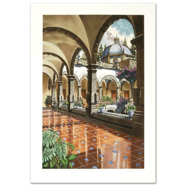 """""""First Light of the Day"""" Limited Edition Serigraph by Juan Medina, Numbered and"""