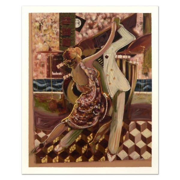 "Sabzi, ""Sabzi Tango II"" Limited Edition Hand Embellished, Numbered and Hand Sign"
