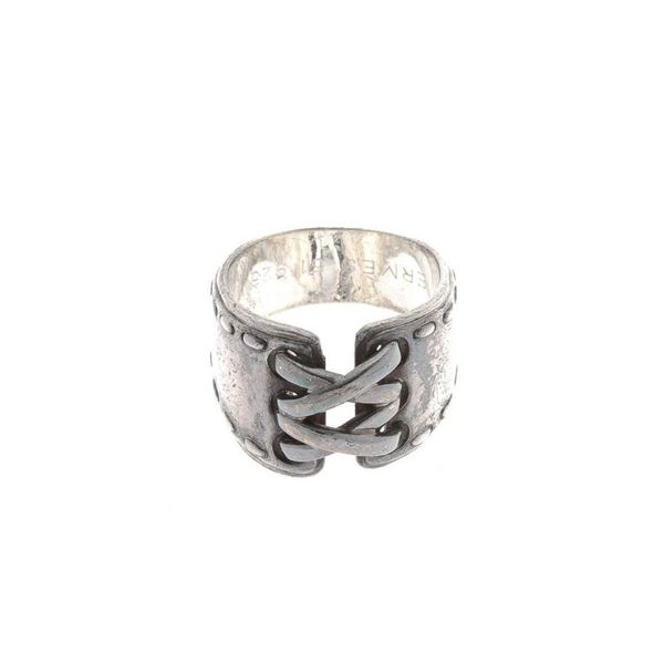 Hermes Silver US 6 Ring