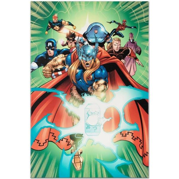 "Marvel Comics ""Last Hero Standing #5"" Numbered Limited Edition Giclee on Canvas"