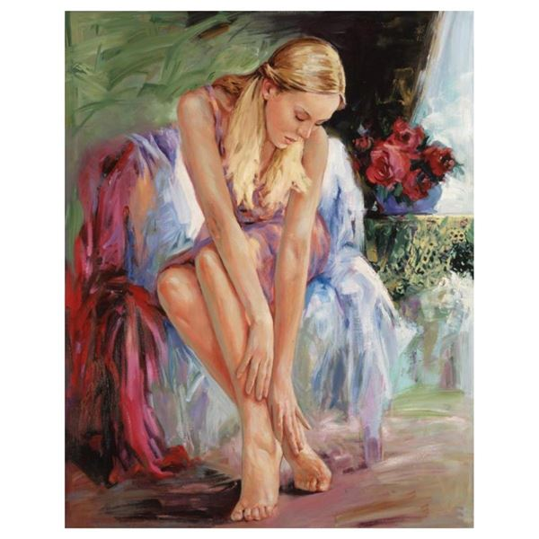 "Igor Semeko, ""Bella"" Hand Signed Limited Edition Giclee on Canvas with Letter of"