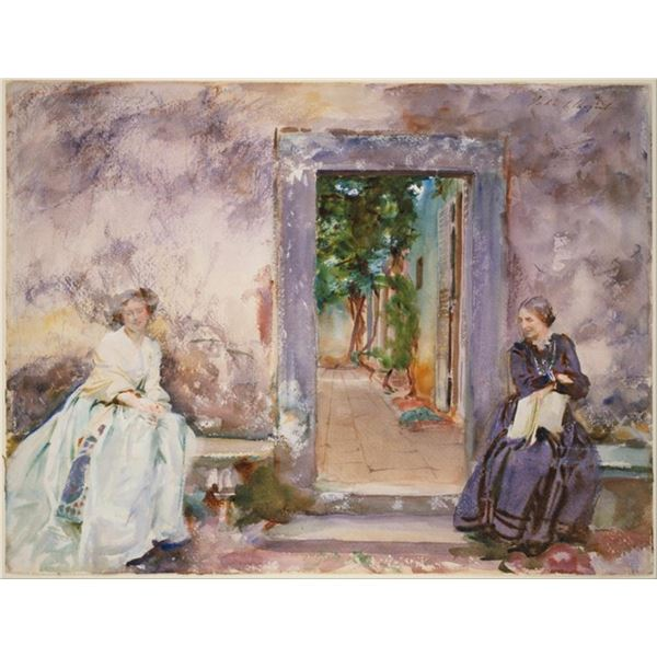 Sargent - The Garden Wall