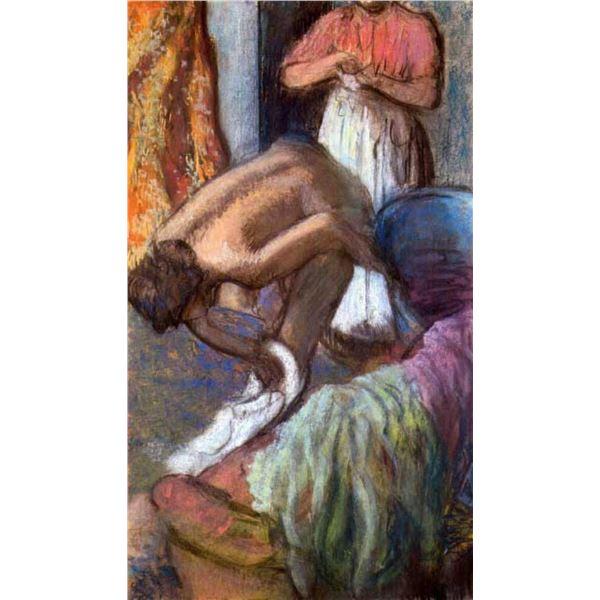 Edgar Degas - The Strengthening After The Bathwater