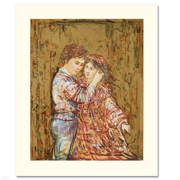 """Interlude"" Limited Edition Serigraph by Edna Hibel (1917-2014), Numbered and Ha"