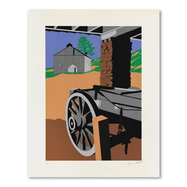 "Armond Fields (1930-2008), ""Wagon Wheel"" Limited Edition Hand Pulled Original Se"