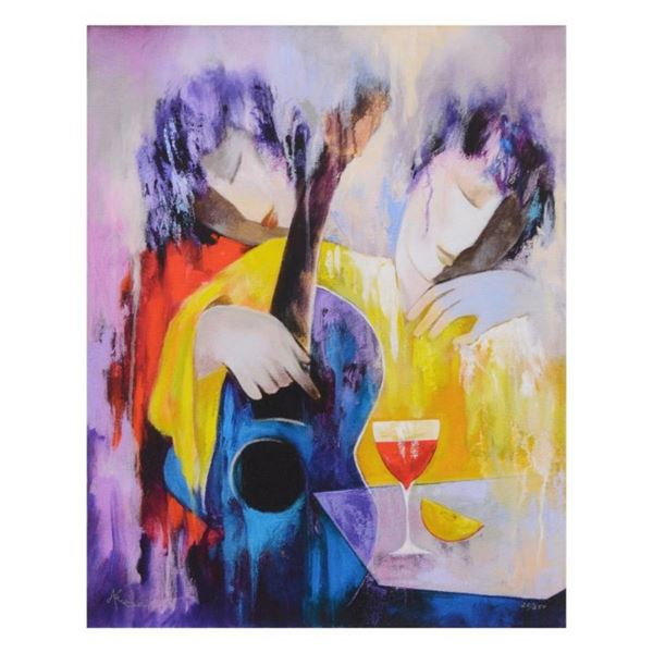 """Arbe, """"Interlude"""" Limited Edition on Canvas, Numbered and Hand Signed with Certi"""