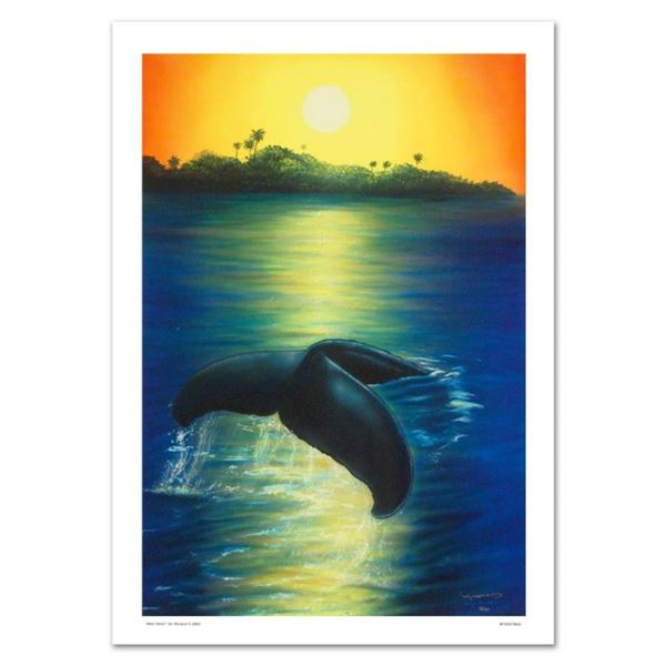 """New Dawn"" Limited Edition Giclee on Canvas by renowned artist WYLAND, Numbered"