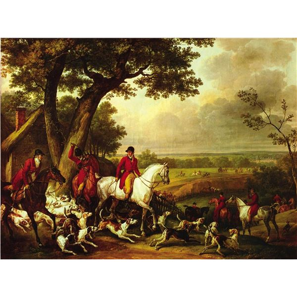 Carle Vernet Hunt In The Park