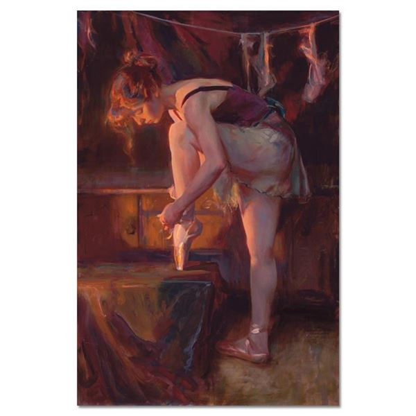 "Dan Gerhartz, ""The Audition"" Limited Edition on Canvas, Numbered and Hand Signed"