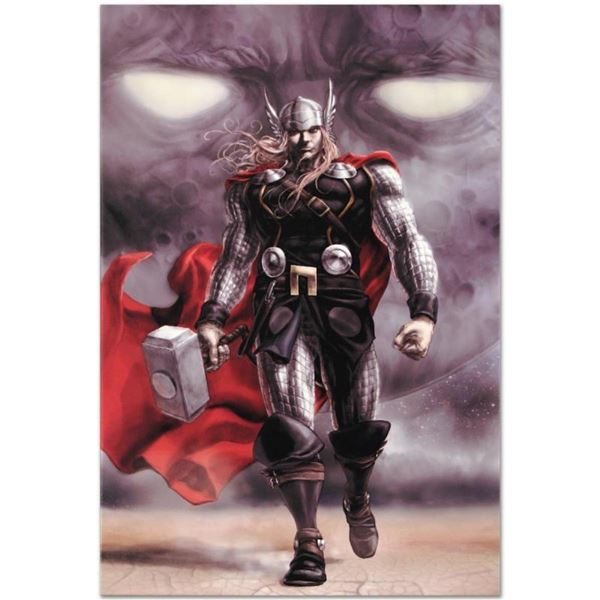 """Marvel Comics """"Astonishing Thor #5"""" Numbered Limited Edition Giclee on Canvas by"""