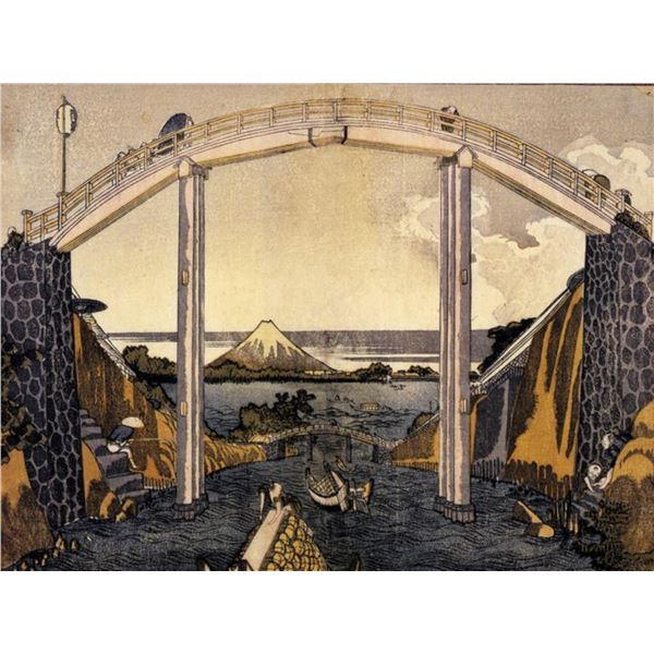 Hokusai - View of Mount Fuji