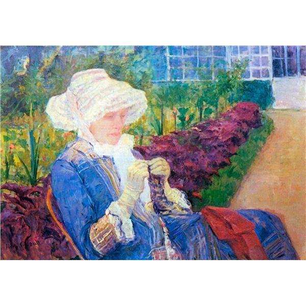 Mary Cassatt - Lydia In The Garden Of Marly