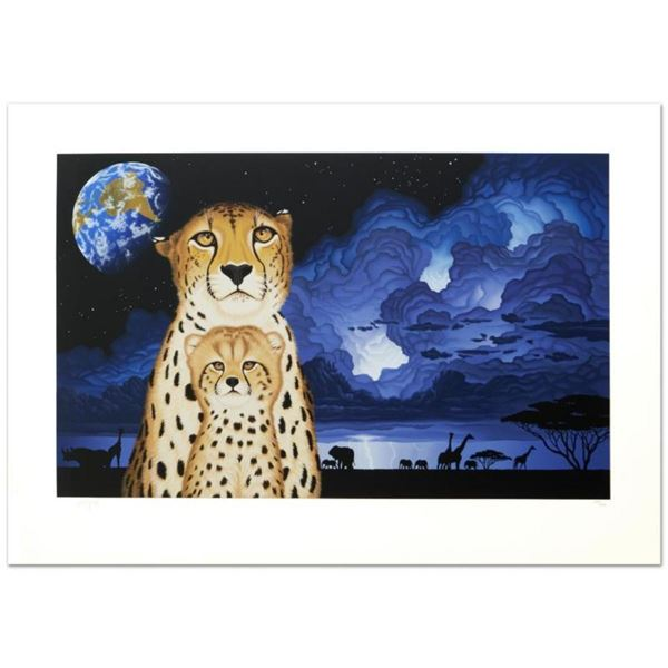 """""""Guardians of the Night"""" Limited Edition Serigraph by William Schimmel, Numbered"""