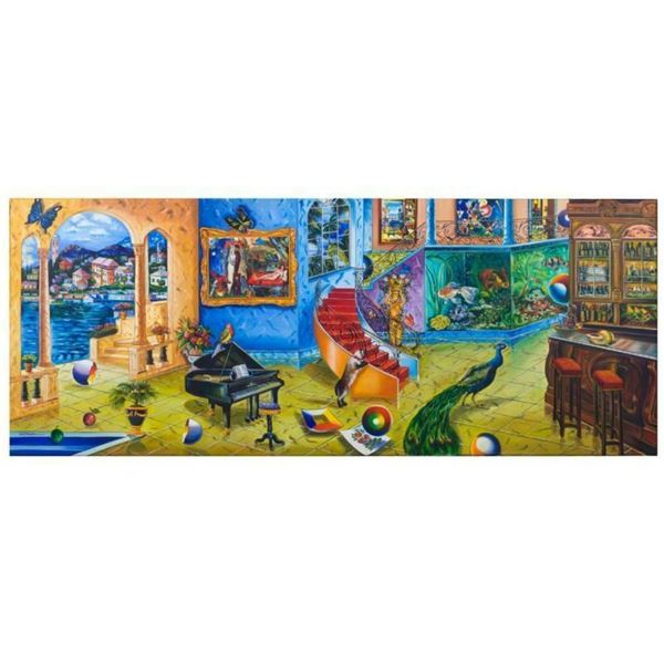 """Alexander Astahov, """"Beautiful Mess"""" Hand Signed Limited Edition Giclee on Canvas"""